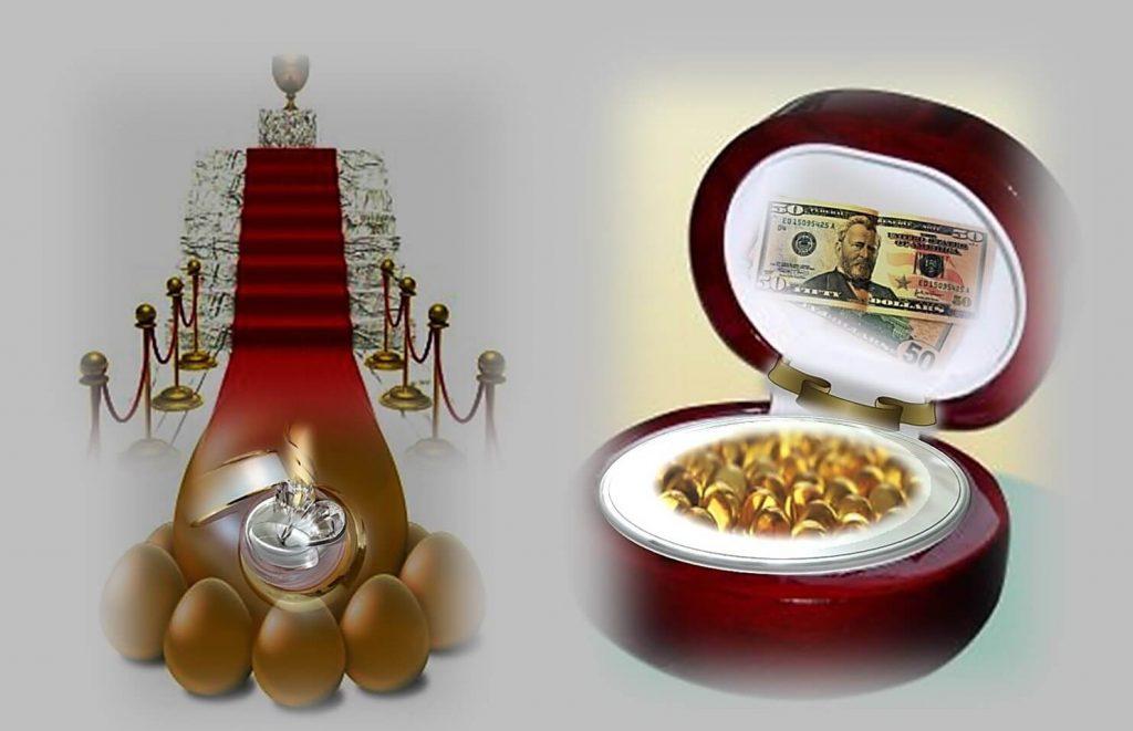 טיפ קרם המכיל מתכות אצילות ויהלומים לא יותר מבלוף אחד גדול. תמונה של קרם עם זהב ויהלומים.
