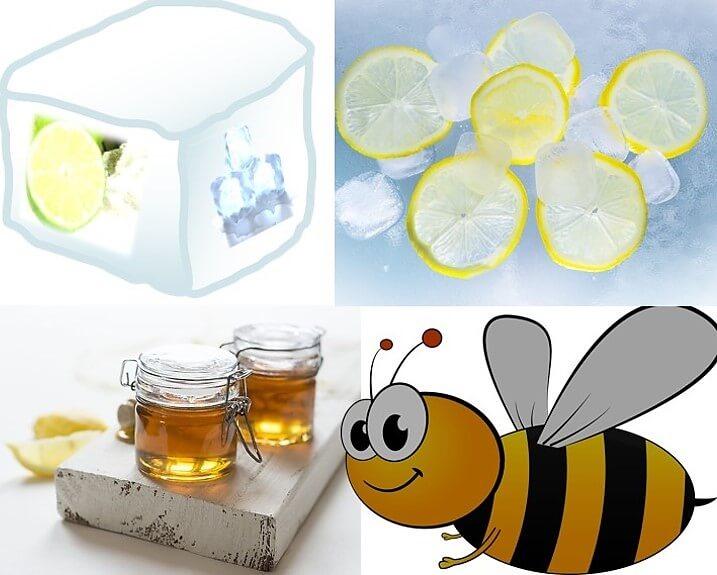 איך עוצרים מהר דימום מחתך? טיפ לימון דבש וקרח לעצירת דימום מחתך.